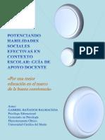 Guía Revisada de Apoyo Docente en Resolución de Conflictos y Manejo Del Estrés.  Gabriel Bañados Balmaceda.