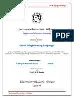Report Swift Language 1..4