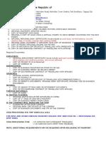 Korea Visa Requirements
