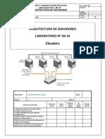 Laboratorio 09 10 - Cluster