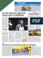 En mai, place au spectacle vivant avec La Distillerie (04/05/18)