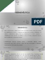 Hermeneutica Como Metodo