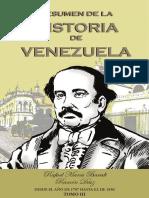 Resumen de Historia de Venezuela Tomo III