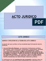 Acto Jurídico