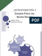 Antropometria y Examen Físico Del Rn Trabajo