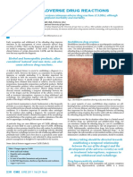 Cutaneous Adverse Drug Reactions