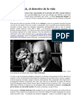 Francis Crick, el detective de la vida