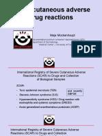 Severe Cutaneous Adverse Drug Reaction