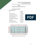 03 Bab III - Perhitungan Pelat Atap Dan Lantai (36 -52)