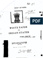 White Paper on Indian States 1948