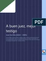 A Buen Juez Mejor Testigo-Zorrilla Jose