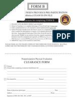Health Exam Form b