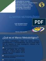 El Marco metodológico. Exposición.ppt
