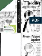 Jorge Lafforgue - Cuentos Policiales Argentinos