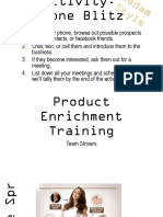 Ardeur Product Enrichment Program
