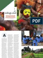 """""""Papua Nya Guineas språkliga mångfald"""", för Språktidningen"""