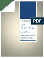 Curriculo Con Pertinencia Social