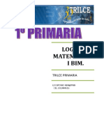 LOGICO MATEMATICO  I BIMESTRE