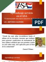 Aprendizaje Servicio en El ASA.ppt