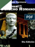 Manual de Derecho Roamano 5ta Edicion - Wilmer Carmona 2