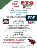 scarlet bowling enrollment form 2018-2019