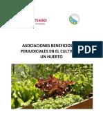 Asociaciones Beneficiosas y Perjudiciales en El Cultivo Del Huerto