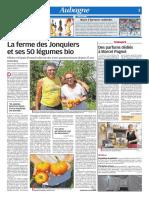 La Ferme des Jonquiers et ses 50 légumes bio (28/07/18)