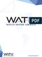 Watch Water México - Catálogo de Productos