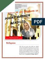 Reliquias Madre Carmen