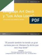 d1 - Lenguaje Art Deco y Años Locos