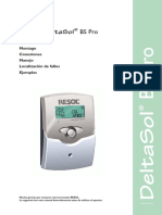 Centralita Resol Deltasol BS Pro