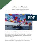Fiesta de San Pedro en Valparaíso