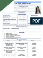 Cuestionario CV