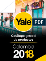 Catalogo YALE 2018