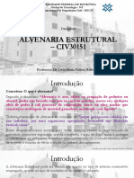 Aulas de Alvenaira Estrutural - 4