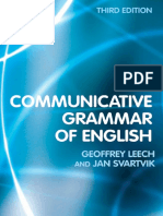 A Communicative Grammar of English-Third Edition
