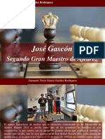 Armando Nerio Hanoi Guedez Rodríguez - José Gascón, Segundo Gran Maestro de Ajedrez
