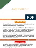 Valor Publico 2018