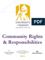 University at Albany CommunityRights8!7!15