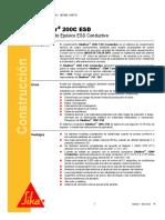 Recubrimiento Epoxico Esd Condustivo Sikafloor 200c Esd (1)