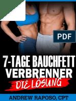 Flacher Bauch Über Nacht Buch PDF | Andrew Raposo