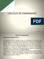 Cálculo de Engranajes
