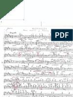 Romanza Piano and Violin Part
