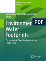 Environment Water Footprints