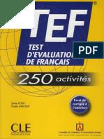 Pons, Sylvie, Gaëlle Karcher - TEF, test d'évaluation de français (2006, CLE international).pdf