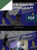 Leopoldo Lares Sultán - Hamilton Da Un Paso Más Camino Al Título en La F1