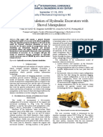 1. Dynamic Simulation of Hydraulic Excavators With