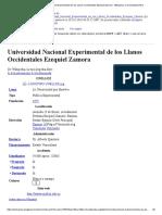 Universidad Nacional Experimental de los Llanos Occidentales Ezequiel Zamora - Wikipedia, la enciclopedia libre.pdf