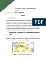 Resúmen Tecnico Problemas de Suministro Electrico Al Zulia 2017.2018