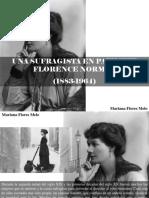 Mariana Flores Melo - Una Sufragista en Patinete, Florence Norman, 1883 - 1964